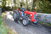 Tractor Run Llanllwni 11th Oct 2014