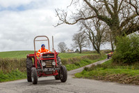 2017 Tractor Run Pencader images by Eifion Thomas 17.4.17