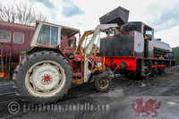 Gwili Railway the coal tractor 15.4.17