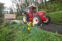 Tractor Run St Peters YFC Bronwydd 1.4.17